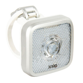 Knog Blinder MOB Eyeballer Bike Light white LED silver